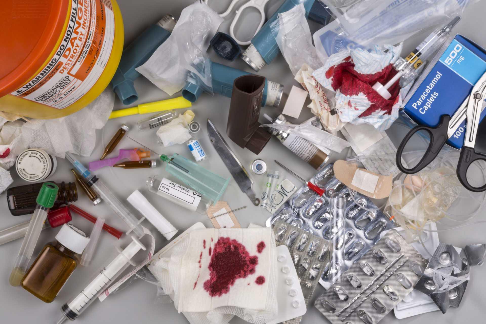 Классы медицинских отходов А, Б, В, Г, Д   Описание, правила сбора, маркировка